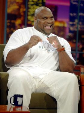 Bob Sapp at the Tonight Show with Jay Leno.